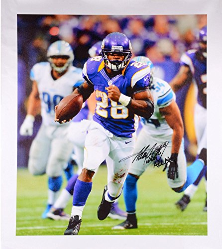 3a359db3a9c Adrian Peterson Minnesota Vikings Autographed Canvas with All Day  Inscription - Fanatics Authentic Certified