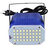 Alcoa Prime DU# 36 Led High Power White LED Stage Light DJ Strobe Light Flash Light Club Party Festival 220V White...