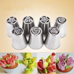 Set of 7pcs Russian Icing Piping Nozz...