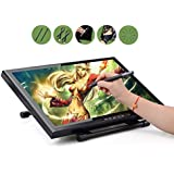 Ugee 1910 Digital Pen Tablet Drawing Monitor 19 Inch LCD Screen with Two Original Pens ,Artist Glove and Screen Protector Film