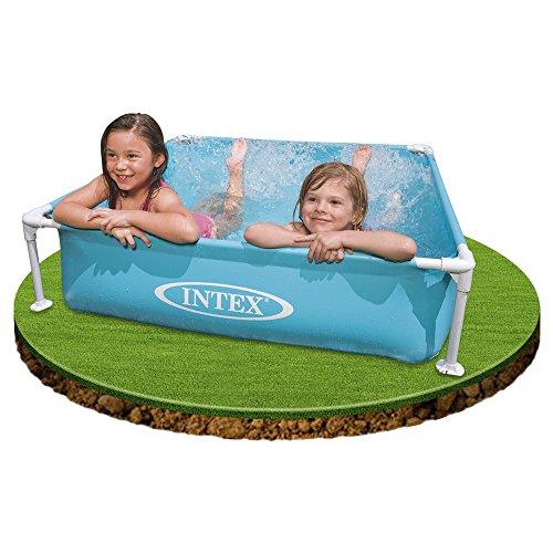 Intex piscina quadrata per bambini colore azzurro 122 - Amazon piscina bambini ...
