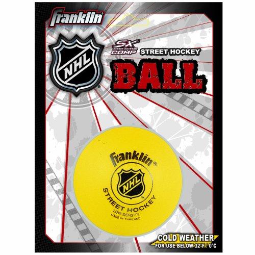 Franklin-Streethockeyball-Low-Density-Ball-gelb-12205