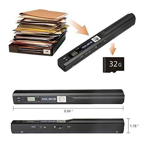 Best Portable Scanner 2018 Guide Reviews Amp Tips