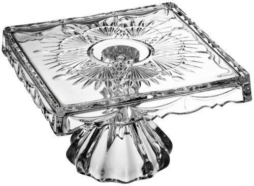 Godinger Freedom Small Footed Cake Plate (Godinger Crystal Cake Plate compare prices)
