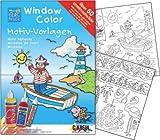 C KREUL Window Paint with Summer Maritime VE 1