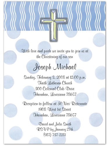 Baptism Invitations Photo front-274698