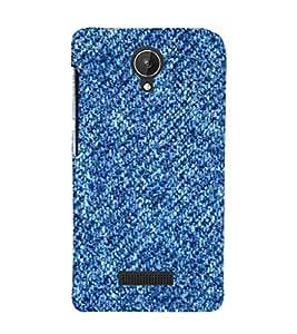 EPICCASE Cool blue case Mobile Back Case Cover For Micromax Canvas Spark Q380 (Designer Case)