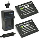 Wasabi Power Battery (2-Pack) and Charger for Samsung EB-F1A2GBU and Samsung Galaxy Camera, EK-GC100, EK-GC110, EK-GC120
