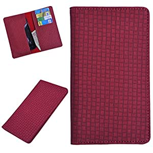 DSR Pu Leather case cover for Gionee Elife E6 (red)