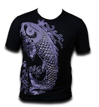 Bambooa mens koi fish t shirt clothing for Koi fish dress