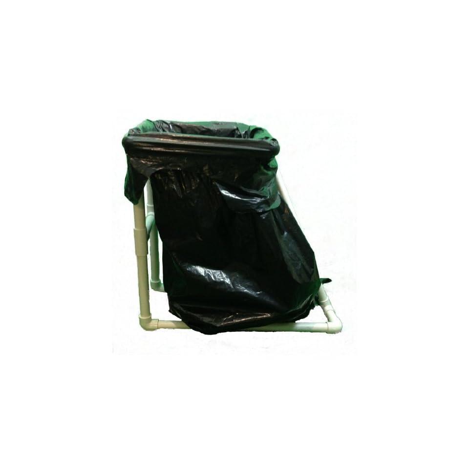 trash bag holder or portable garbage can holder great for camping or yard answer. Black Bedroom Furniture Sets. Home Design Ideas