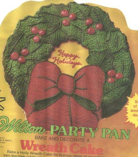 Wilton Cake Pan: Holiday Wreath (502-1484, 1980)