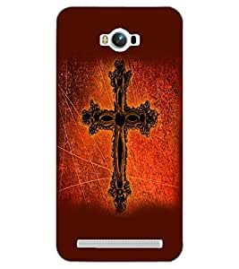 ASUS ZENFONE MAX JESUS Back Cover by PRINTSWAG