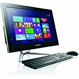 Lenovo C345 20-inch All-in-One Desktop PC - (Black) (AMD E1 1200 1.4GHz Processor, 4GB RAM, 500GB HDD, DVDRW, LAN, WLAN, Webcam, Integrated Graphics, Windows 8)