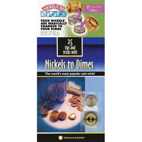 Loftus International 25 Tips and Tricks with Nickels to Dimes - Trick and Booklet Combo