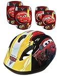 Stamp Disney Cars Helmet/Elbow and Kn...