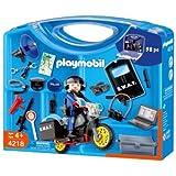 Playmobil Police Swat Take-Along Carrying Case