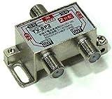 Lumen アンテナ2分配器 [ 地上波デジタル/BSデジタル/110°CSデジタル/CATV 放送対応 ] 全端子...