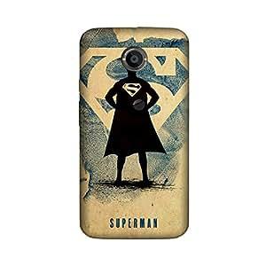 StyleO Moto X2 Designer Printed Case & Covers (Moto X2 Back Cover) - Superhero Superman