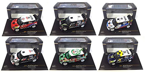 lot-de-6-voitures-mini-john-cooper-works-monte-carlo-1-43-voiture-rallye-diecast-ixo