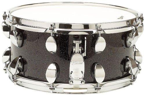 Premier Drums Series Elite 22846Bdl 1-Piece Maple 14X6.5 Inches Snare Drum, Drum Set (Black Denim)