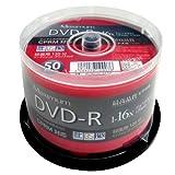 磁気研究所 Maximum DVD-R CPRM対応 デジタル録画用16倍速 4.7GB ワイドエリアホワイト プリンタブル スピンドルケース 50枚 MXDR12JCP50