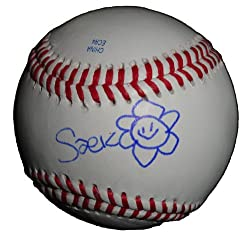 Saeko Dokyu Autographed ROLB Baseball, Gachi Boy, Yu Darvish, Proof Photo