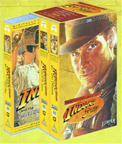 Indiana Jones Trilogy (Box Set/WS) [UK-Import] [VHS]