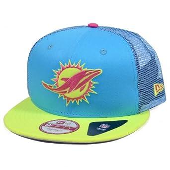 Miami Dolphins Neoprene Trucker Snapback Hat by New Era