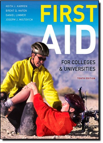 First Aid for Colleges and Universities (10th Edition)