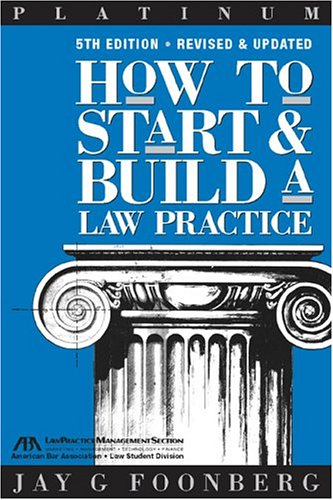 How to Start & Build a Law Practice (Career Series / American Bar Association) (Building A Law Practice compare prices)