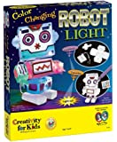 Creativity For Kids Color Changing Robot Light