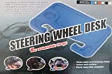 51J37yEupwL. SL160  Car Laptop/Eating Steering Wheel Desk (Black)