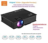 #9: UNIC UC46+ (Upgraded Version ) with USB/HDMI/VGA/WIFI Miracast DLNA Airplay 1200 lm LED Corded Portable Projector (Black)