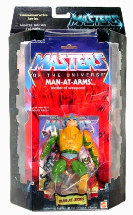 Buy Low Price Mattel Masters of the Universe Commemorative Series I Man-At-Arms Limited Edition 1 in 10,000 Figure (B002JJYXR6)