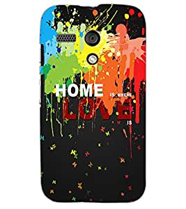 MOTOROLA MOTO G HOME Back Cover by PRINTSWAG