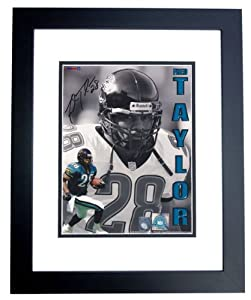Fred Taylor Autographed Hand Signed Jacksonville Jaguars college 8x10 Photo - BLACK... by Real Deal Memorabilia