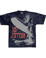 Led Zeppelin T-Shirt - Exloding Zeppelin - Led Zeppelin Shirt ! Batik T-Shirt