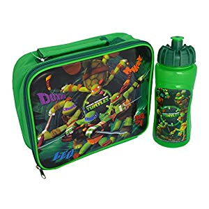 Teenage Mutant Ninja Turtles Lunch Bag & Sports Bottle Set