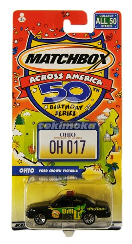 Matchbox Across America 50th Birthday Series, Maryland - Crabbing Boat - 1
