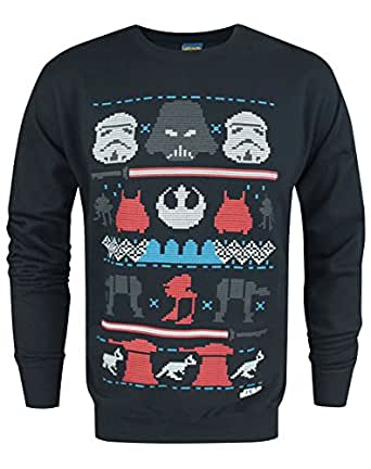 herren official star wars pullover. Black Bedroom Furniture Sets. Home Design Ideas