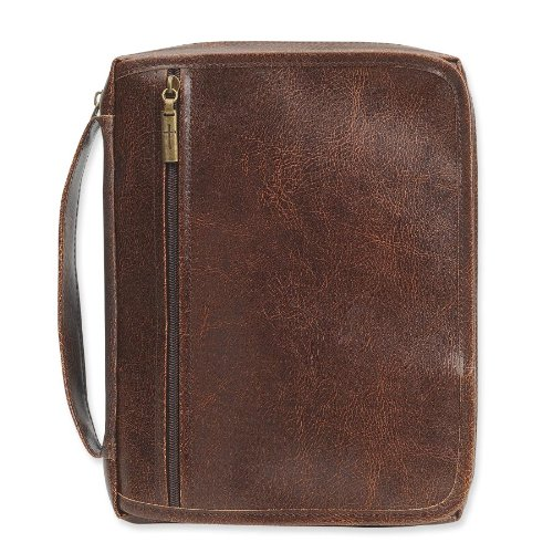 Gregg Gift 124680 Bible Cover-Organizer-Xlg-Distressed Brown (Gregg Gift Company compare prices)