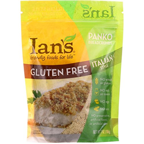 Ians Natural Foods Bread Crumbs - Panko - Italian Style - Gluten Free - 7 oz - case of 8 - Gluten Free - Dairy Free - Wheat Free (Panko Bread Crumbs Italian compare prices)
