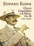 img - for Cello Concerto in E Minor in Full Score (Dover Music Scores) book / textbook / text book