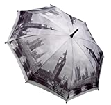 Beautiful City Black and White Collection Stick Umbrella - London - Christmas Gift Idea