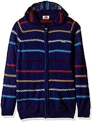 UFO Boys Sweater (AW-16-KF-BKT-258_True Blue_8 - 9 years)