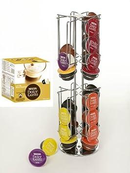 james 39 premium drehbarer kaffee kapselhalter nescaf dolce gusto latte macchiato 1er pack. Black Bedroom Furniture Sets. Home Design Ideas