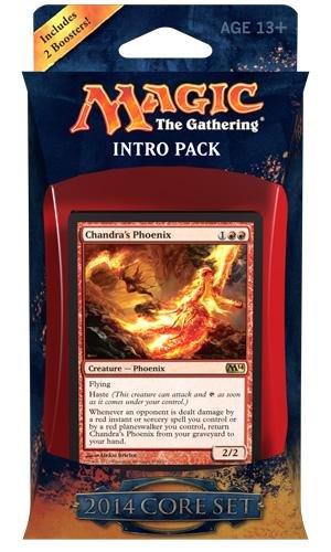 MTG Magic the Gathering Core Set 2014 M14 Intro Deck Fire Surge