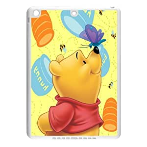 Custom Adorable Winnie the Pooh Ipad Air Case Cover ,Rubber Hard Back Cases For Fans At 007Fashion Boutique