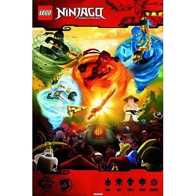 Lego - Ninjago Poster Poster Print, 24x36